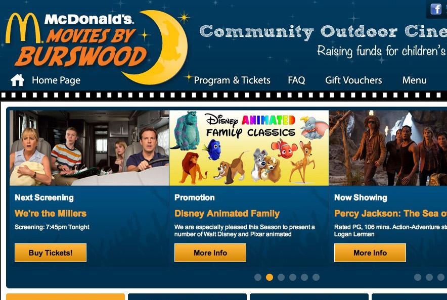 McDonald's Movies by Burswood