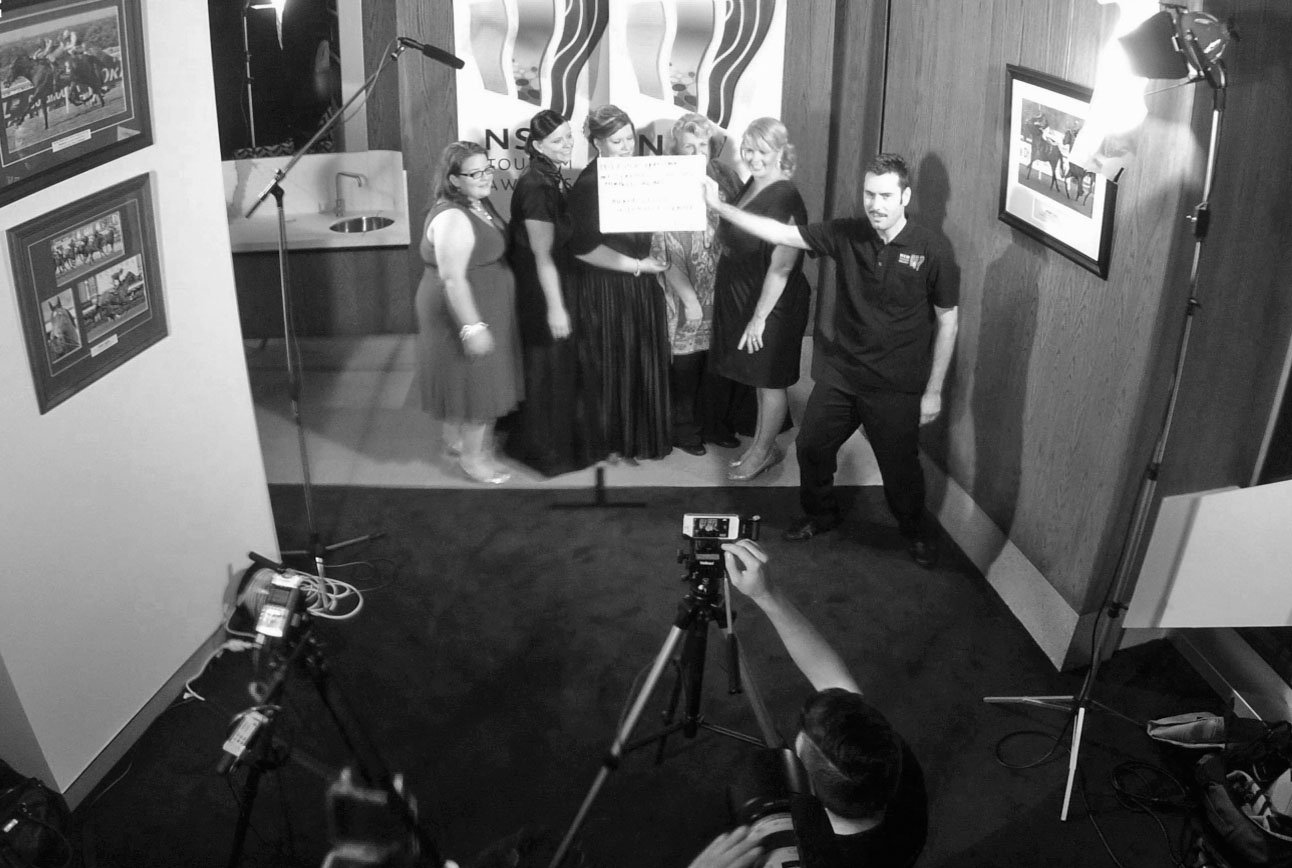 2013 NSW Tourism Awards – Media room (behind the scenes)